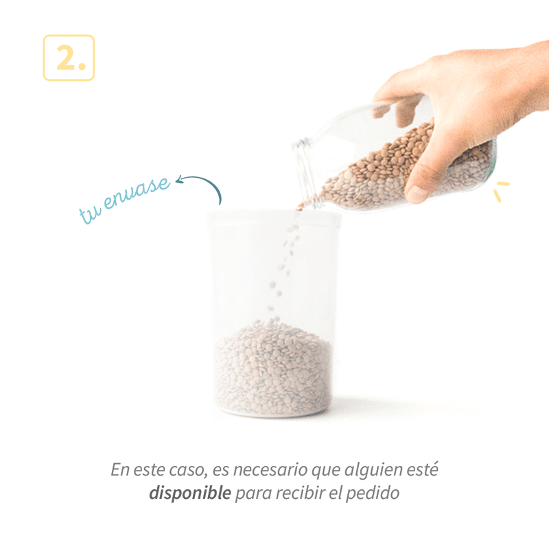 Cómo mercar a granel en tolá market paso 2 - Bogotá